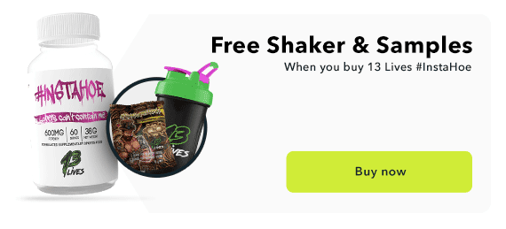 Free Loaded Shaker with #Instahoe