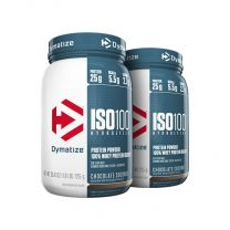 Dymatize ISO 100 - 1.6LB  (Twin Pack)
