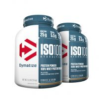 Dymatize ISO 100 - 5LB (Twin Pack)