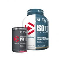 Dymatize Iso 100 and Pre W.O combo pack