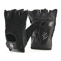 Mani Sports Mesh weight Training Gloves front and back