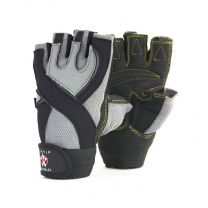Mani Sports XCrossFit weight training gloves Front and Back